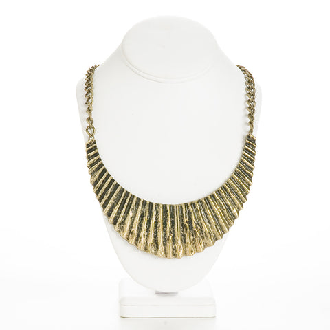 Accordian Necklace