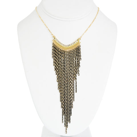 Ophelia Fringe Necklace