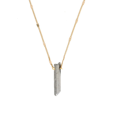 Stick Quartz Necklace