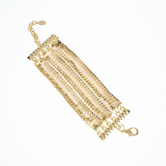 Fiona Flash Mesh Chain Bracelet