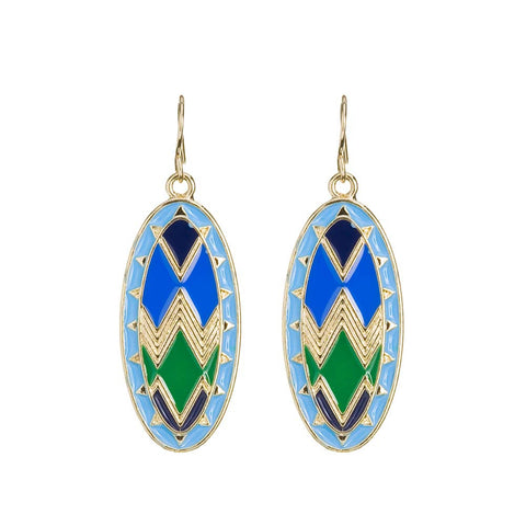 Navajo Shield Earrings