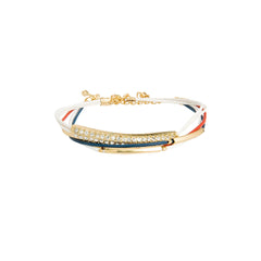 Pretty Patriotic Bracelet Stack