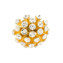 Sunburst Cluster Ring - Gold