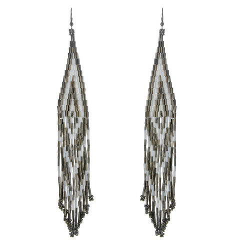 Navajo Beaded Earrings