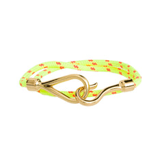 Hook, Line, & Sinker Bracelet-Yellow