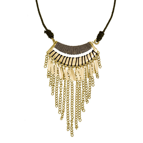 Gypsy Fringe Necklace