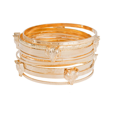 Fox Trot Bangle Stack