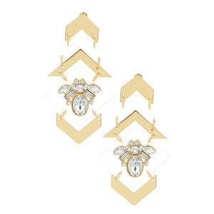 Gold Plex Earrings