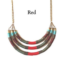 Masai Wrap Thread Necklace