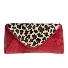 Empress Clutch--Red