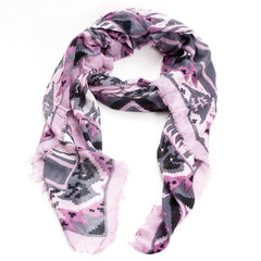 Arizona Scarf--Dusty Lilac