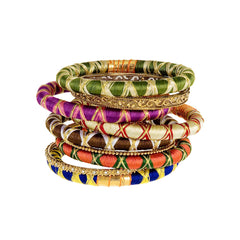 Gypset Thread Bangle Stack