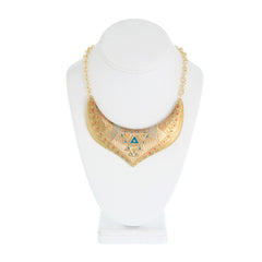 Glamourai Bib Collar Necklace