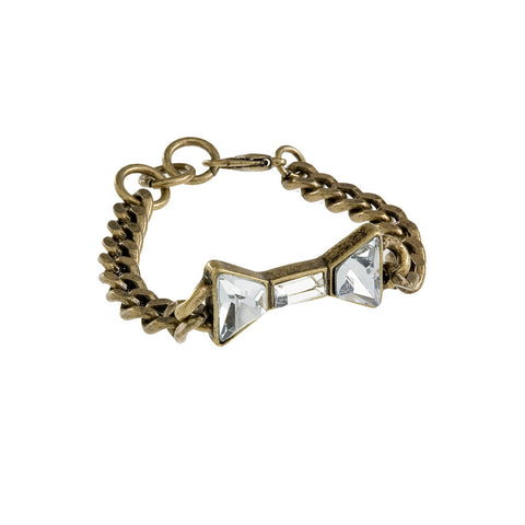 Bow'd & Beautiful Charm Bracelet