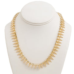 Sleek 'n Spike Necklace