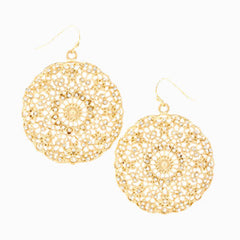 Lightweight Lacey Lace Earrings