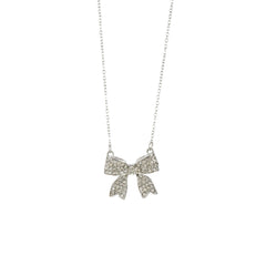 Sugar 'n Spice Ribbon Necklace-Silver