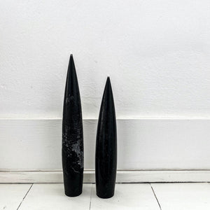 Open image in slideshow, Black bullet candle