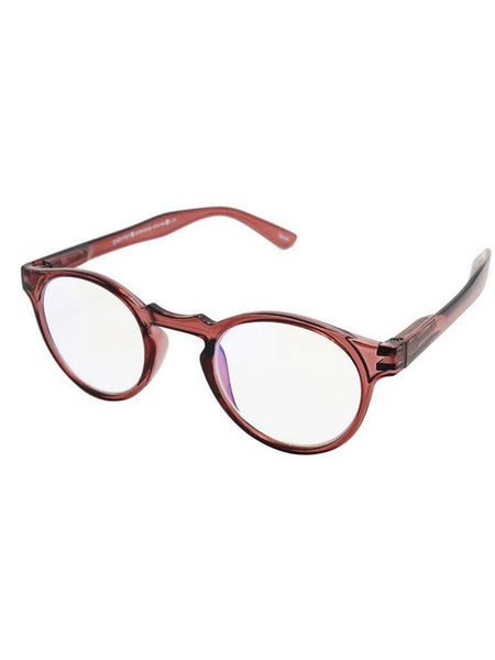 Jesse Red Reading Glasses - Blue Light