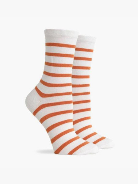 Nora Socks - White Tobacco