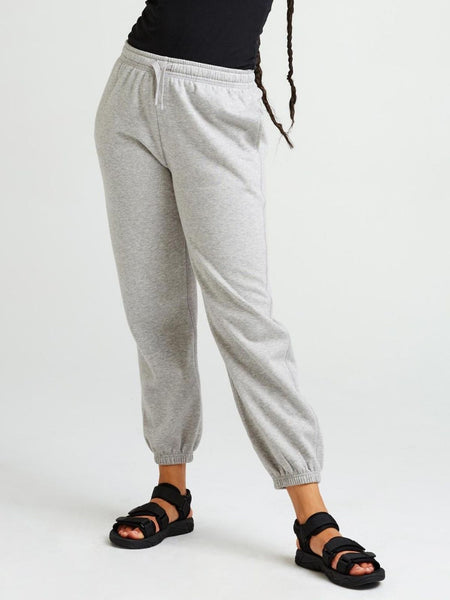 Recycled Fleece Sweatpant - Heather Grey