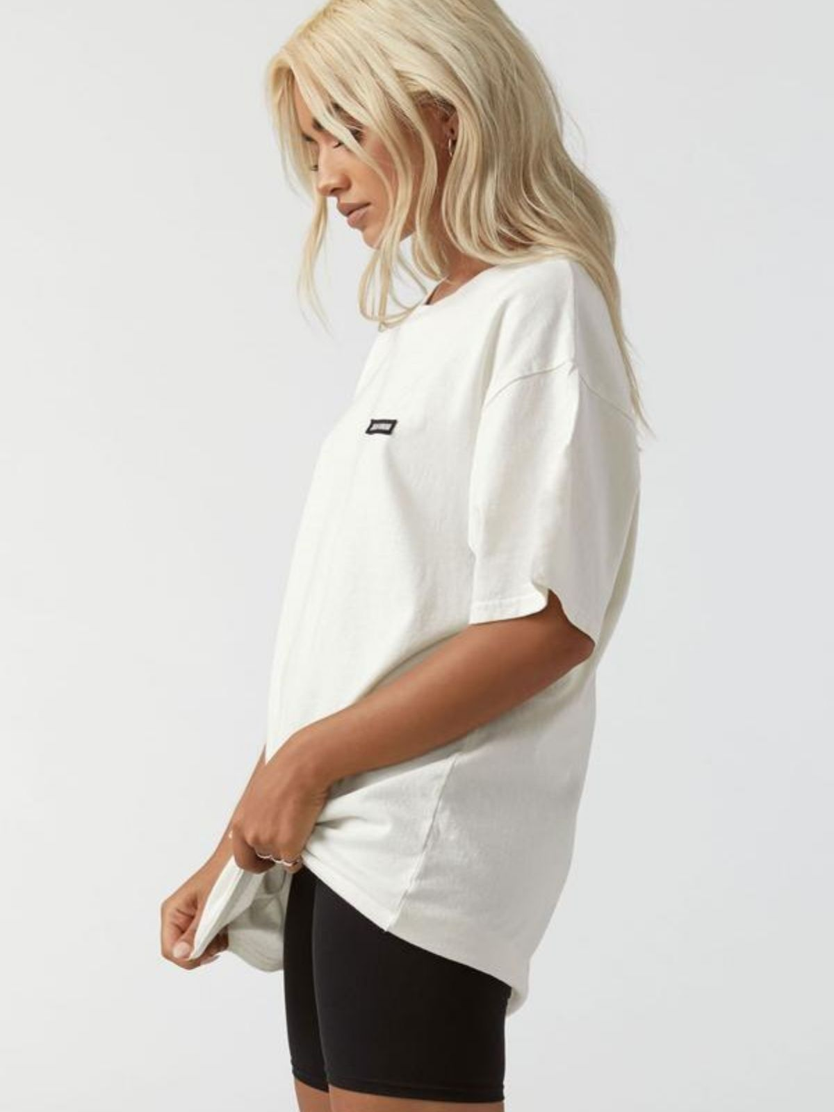 Oversized Crew Tee - Off White