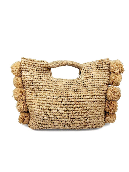 Pom Handheld Crossbody Bag