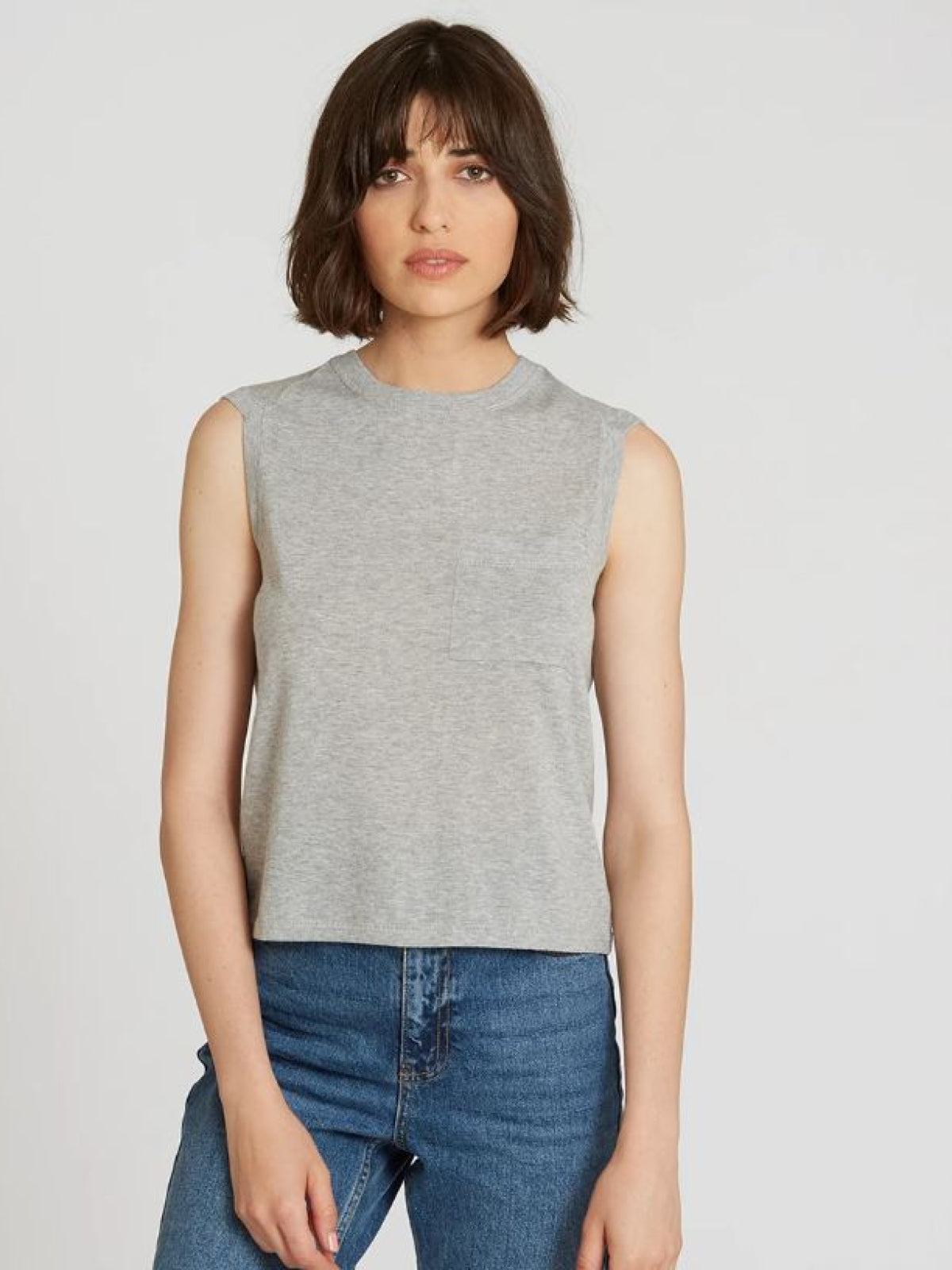 Muscle Tee Platinum