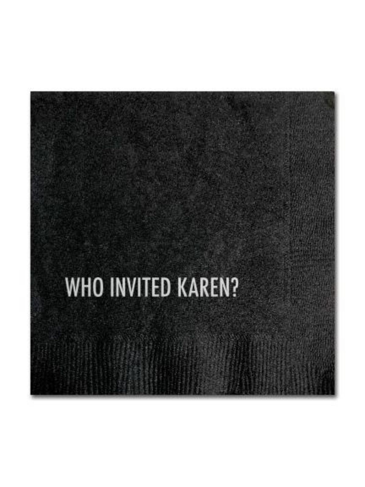 Karen Cocktail Napkins