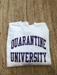 Quarantine University Crewneck - Purple