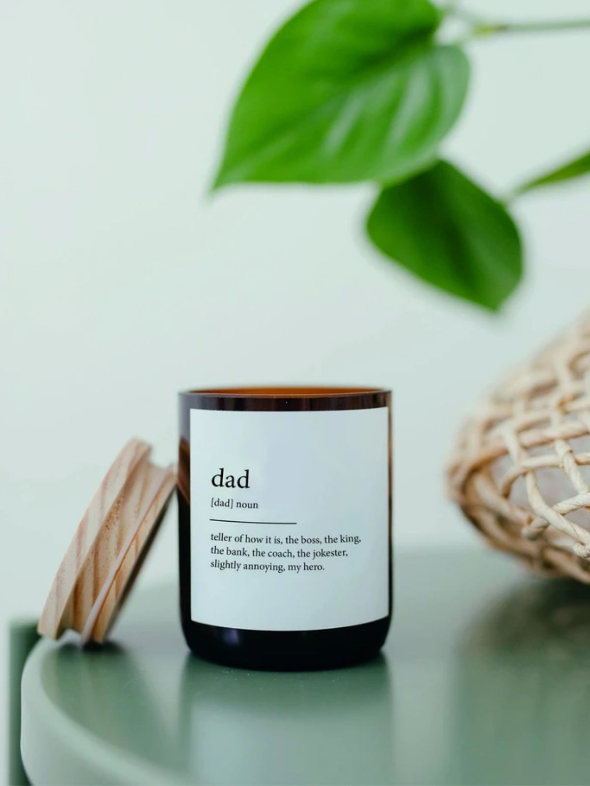 Dad Dictionary Candle - Mali