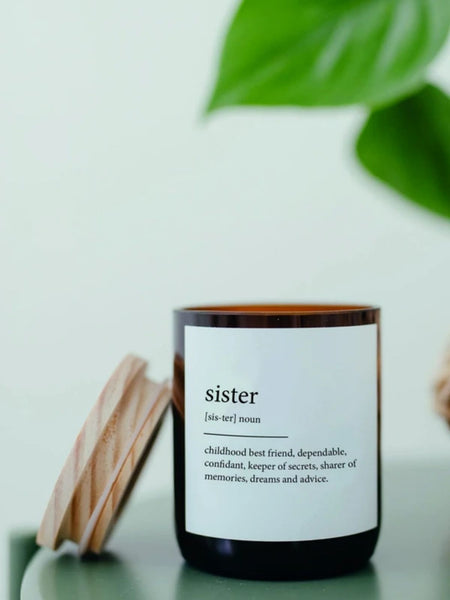 Sister Dictionary Candle - Himalayas