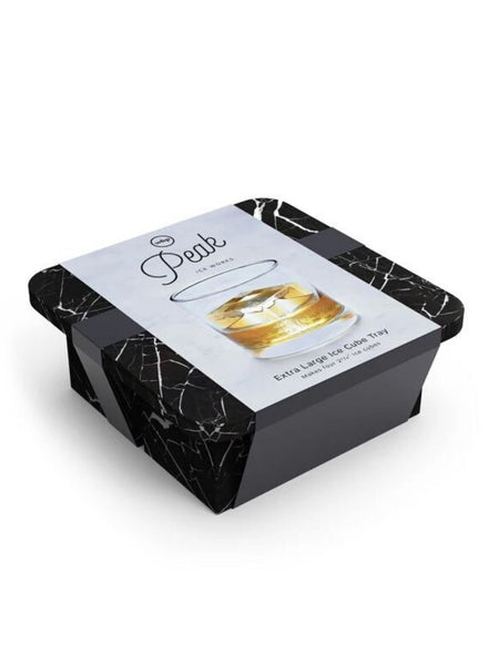 Black Marble XL Ice Cube Tray