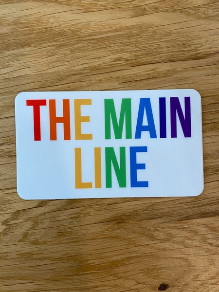 The Main Line Sticker