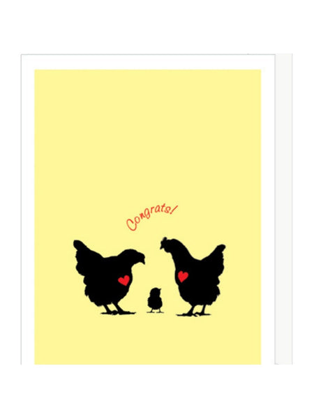 Baby Chick New Baby Card
