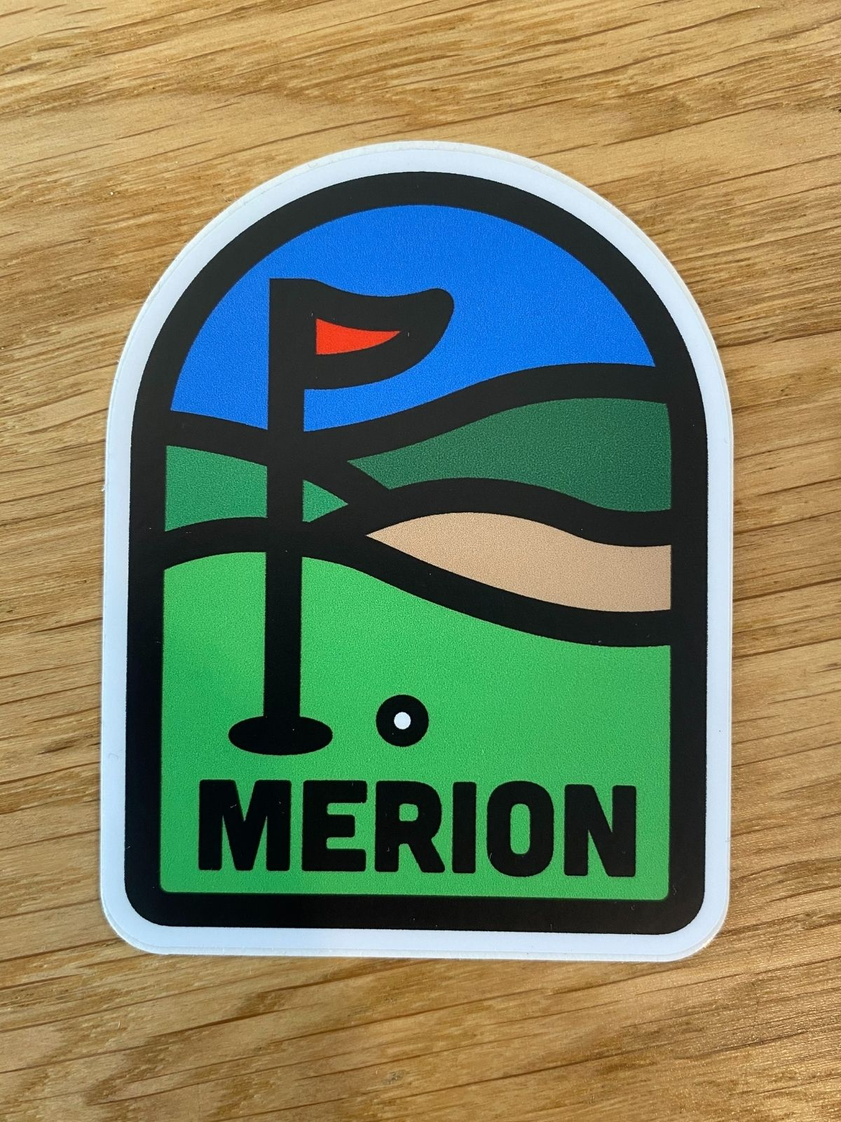 Merion Sticker