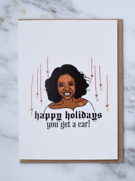 Oprah Holiday Card