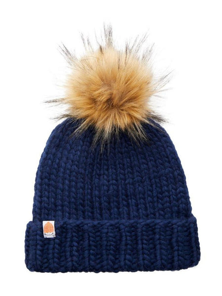 The Rutherford Beanie - Navy