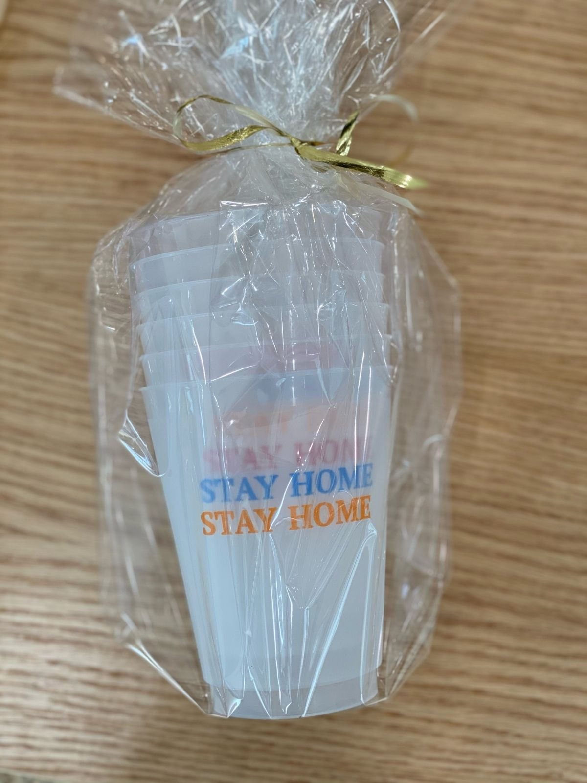 Stay Home Frosted Cup 6-Pack