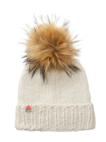 The Rutherford Beanie - White Lie