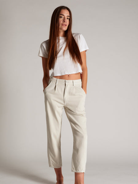 Pleated Slouch Trouser