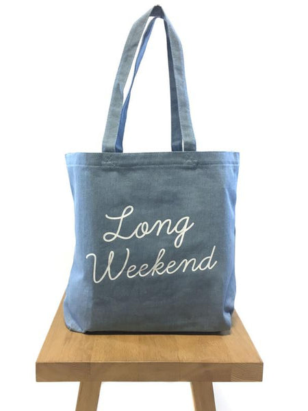 Long Weekend - Tote Bag