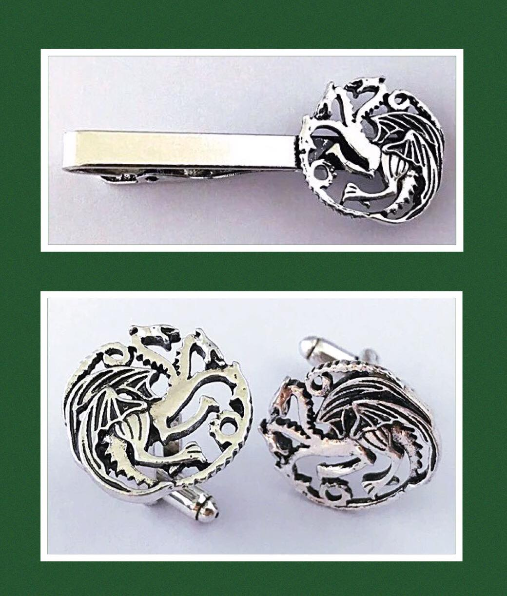 TV Show Tie Clip and Cufflinks 3