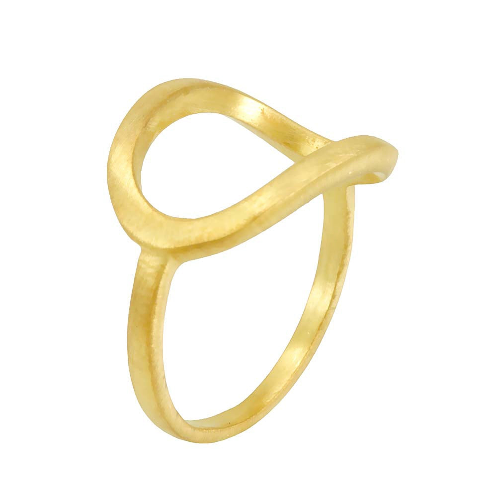 14K Yellow Gold Ladies Ring, Fashion Ring