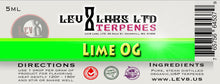 Lev8 Labs Terpenes - Lime OG -