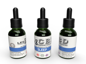 Terpene Enhanced CBD Tincture - Sleep - 30ml