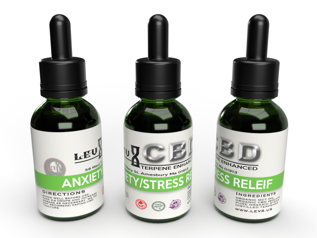 Terpene Enhanced CBD Tincture - Anti-Anxiety - 30ml