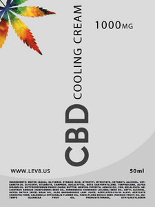 Lev8 Labs Ltd -  CBD Cooling Cream