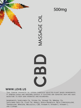 Lev8 Labs Ltd - CBD Massage Oil With Added Cannabinoids