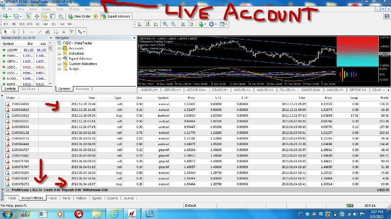 Trading system download